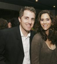 Scott Marshall and Jami Gertz at the after party of the premiere of