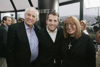 Director Garry Marshall, Scott Marshall and Penny Marshall at the premiere of