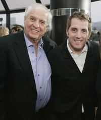 Director Garry Marshall and Scott Marshall at the premiere of