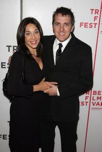 Elissa Marshall and Scott Marshall at the premiere of