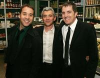 Jeremy Piven, Daniel Battsek and Scott Marshall at the after party of the premiere of