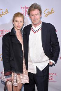 Rochelle Bostrom and James McCaffrey at the premiere of