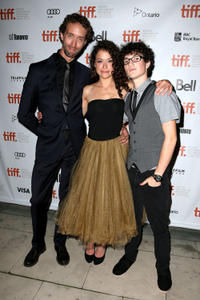 Steven McCarthy, Tatiana Maslany and Spencer Van Wyck at the Canada premiere of