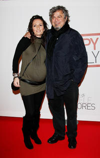 Arianna Garofalo and Ugo Conti at the premiere of