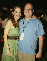 Kelly Preston and Mike Mitchell at the California premiere of