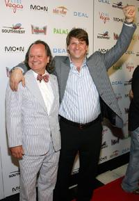 Ritchie Montgomery and Michael Arata at the world premiere of