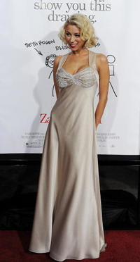 Katie Morgan at the premiere of