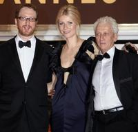 Director James Gray, Gwyneth Paltrow and Moni Moshonov at the screening of