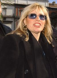 Alessandra Mussolini at the promotion of her new right-wing party