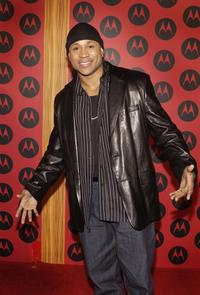 LL Cool J at the Motorola's Sixth Anniversary Party.