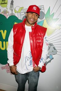 LL Cool J at the MTV's Total Request Live.