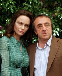 Francesca Neri and Silvio Orlando at the photocall to promote