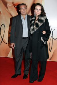 Claudio Amendola and Francesca Neri at the Italian premiere of