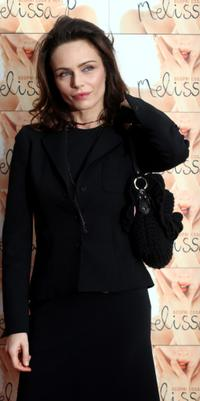 Francesca Neri at the Italian photocall of