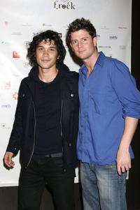 Bob Morley and Paul O Brien at the F.Rock Fashion Event and VIP launch night.