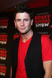 Paul O Brien at the Rocky Horror Show.