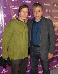 Bodie Olmos and Edward James Olmos at the
