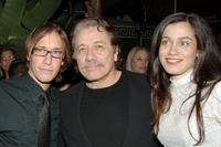 Bodie Olmos, Edward James Olmos and Lymari Nadal at the after party of the premiere of