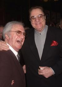 Soupy Sales and Pat Cooper at the NY Friars Club celebration of Soupy Sales 75th birthday.