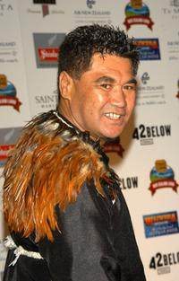 Rawiri Paratene at the Third Annual Celebration of New Zealand Filmmaking and Creative Talent Dinner.