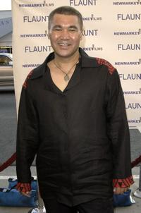 Rawiri Paratene at the premiere of