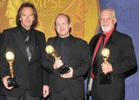 Doug Madick, Daniel Coleman and Richard Partlow at the 56th Annual Motion Picture Sound Editors Golden Reel Awards.