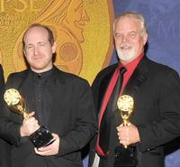 Daniel Coleman and Richard Partlow at the 56th Annual Motion Picture Sound Editors Golden Reel Awards.