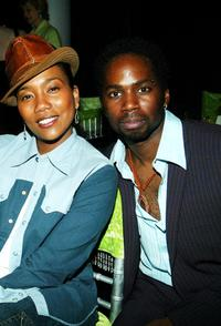 Sonja Sohn and Harold Perrineau, Jr. at the after party of the premiere of