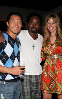 Daniel Dae Kim, Harold Perrineau, Jr. and Jerry Penacoli at the