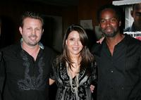 Director Ric Roman Waugh, Marisol Nichols and Harold Perrineau, Jr. at the Los Angeles screening of
