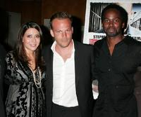 Marisol Nichols, Stephen Dorff and Harold Perrineau, Jr. at the Los Angeles screening of