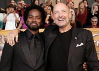 Harold Perrineau, Jr. and Terry O'Quinn at the 12th Annual Screen Actors Guild Awards.