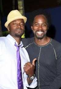 Taye Diggs and Harold Perrineau, Jr. at the ESPN - The Magazine Presents Summer Fun 2006 party.