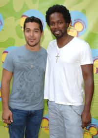 Wilmer Valderrama and Harold Perrineau, Jr. at the premiere of