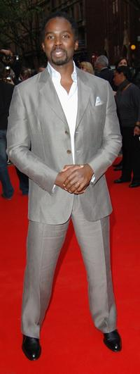 Harold Perrineau, Jr. at the world premiere of