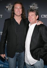 John Corbett and David Foster at the 2006 CMT Music Awards.