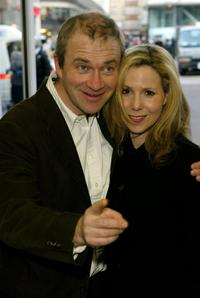 Harry Enfield and Sally Phillips at the UK premiere of