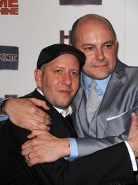 Steve Pink and Rob Corddry at the premiere of