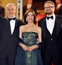 Toni Servillo, Anna Bonaiuto and Massimo Popolizio at the screening of