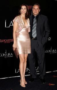 Lola Marcelli and Juanjo Puigcorbe at the premiere of