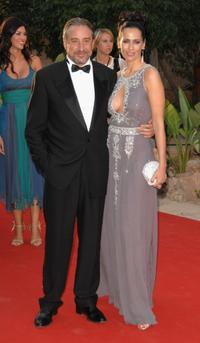 Juanjo Puigcorbe and Lola Marcelli at the Playing for Good Gala.