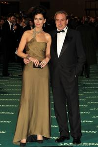 Lola Marcelli and Juanjo Puigcorbe at the 22nd Goya Cinema Awards 2008.