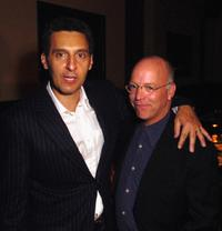 John Turturro and Bingham Ray at the dinner party of