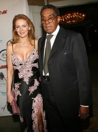 Don Cornelius and wife Victoria at the Norby Walters' 16th Annual Night Of 100 Stars Oscar Gala.
