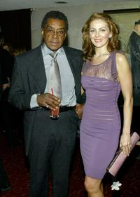 Don Cornelius and his wife at the Annual Norby Walters Holliday Party.