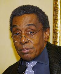 Don Cornelius at the 19th Annual 2005 Soul Train Music Awards nomination announcements.