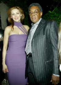 Don Cornelius and his wife at the Gala Benefit For Debbie Allen's Pearl Musical.
