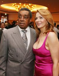 Don Cornelius and his wife Victoria at the Anti-Defamation League Entertainment Industry Awards.