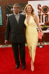 Don Cornelius and his wife Victoria at the 20th Annual Soul Train Music Awards.