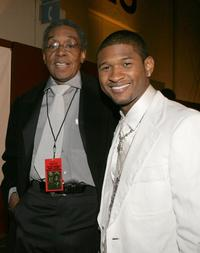 Usher and Don Cornelius at the 19th Annual Soul Train Music Awards.